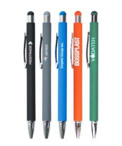 Po celotni površini gumirano pisalo v modri, zeleni, oranžni, črni in sivi barvi.